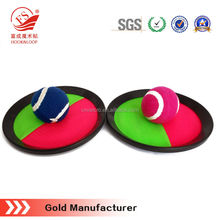 colorful home garden magic tape Catch Ball for Beach Catch Game set
