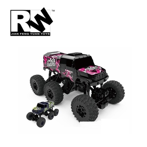 RW 2.4G 1/8 scale 6WD 6x6 rc car rc monster truck rock crawler electric car