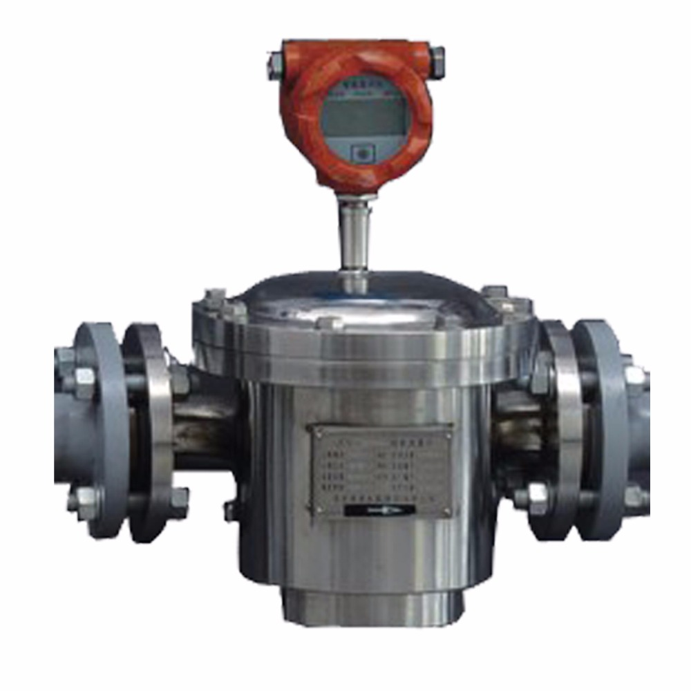 positive displacement rotary vane flow meter