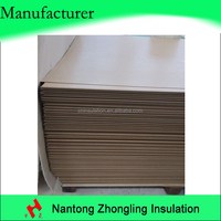 electrical insulation sheet for transformer fiber board