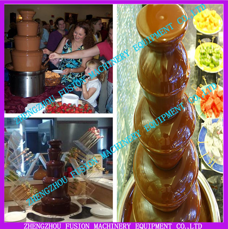 TOP QUALITY chocolate fountain/chocolate fountain prices/chocolate fountain machine