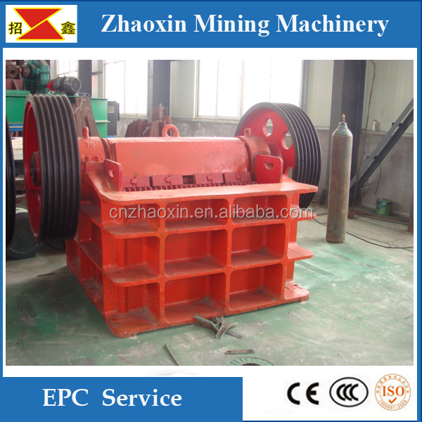 PE series high crushing efficiency stone jaw crusher