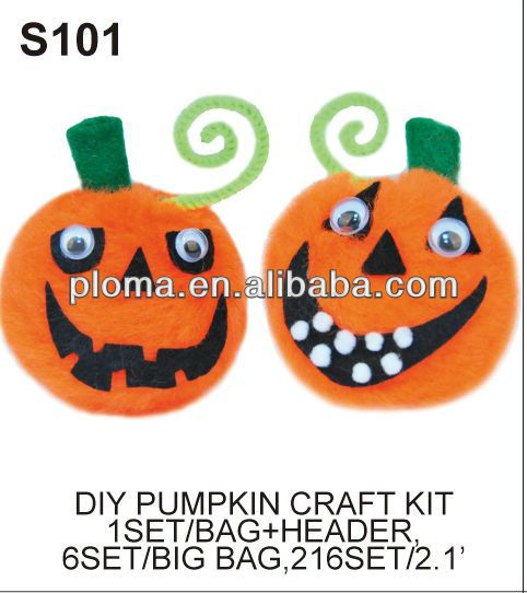 DIY CRAFT (S101) DIY PUMPKIN CRAFT KIT