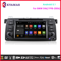"7"" 2 Din Android 5.1 Car Auto Multimedia DVD Player and Navigation for BMWW E46(1998-2006)"