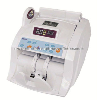 Maxsell India S First Counting Machine With Super Fake