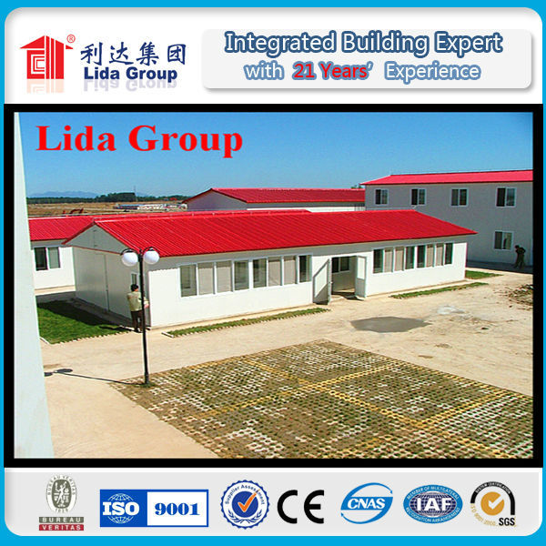 Professional prefabricated house villas,bamboo prefabricated house with CE certificate