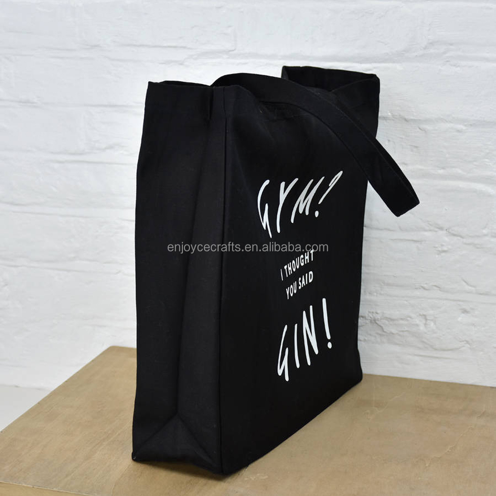 tote design foldable bag logo printing promotional shopper for shopping