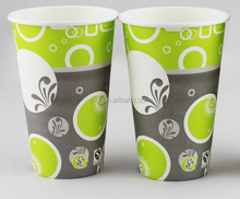 Amazing Designs Disposable Single Wall Paper Coffee Cups for USA