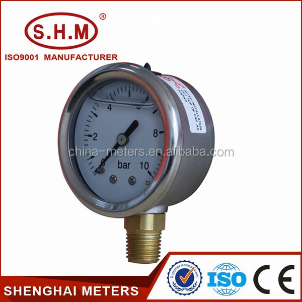 Hydraulic lpg measuring instrument