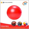 High Quality Yoga Exercise Kids Red Plastic Ball With Custom Logo