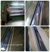Hot Blue Normal Clear PVC Film