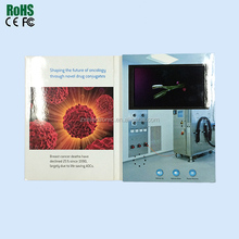 4.3 inch video greeting cards with TFT LCD display