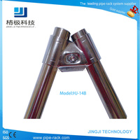 Metal pipe joints with Angle cross structure for pipe rack (HJ-14B)