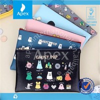Promotional cheap PU pencil bags, cosmetic pouch