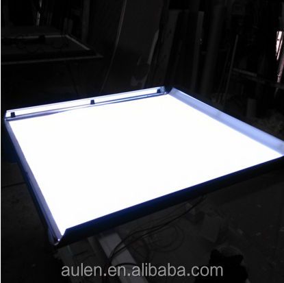 High Brightness Slim Light Box Edge Light Sheet