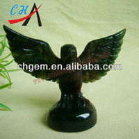 Gemstone Carved Eagle