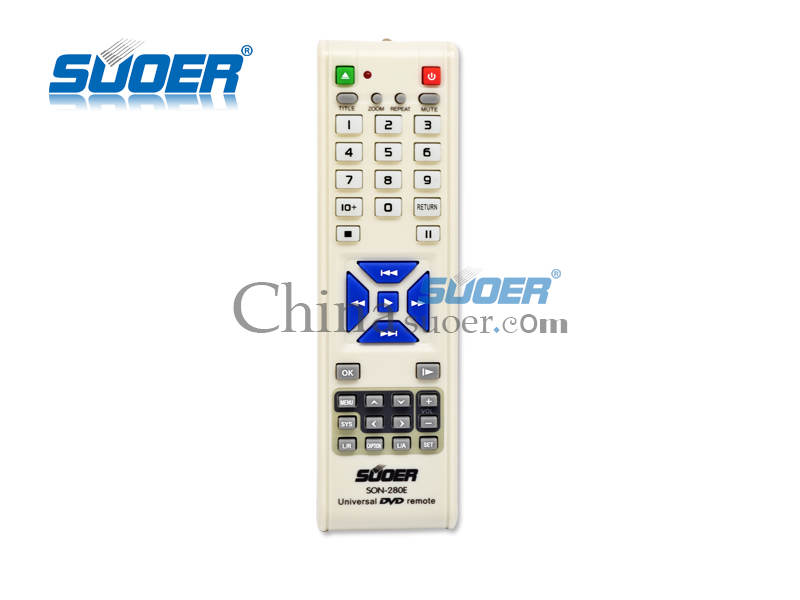 Universal remote control for home appliances DVD Remote Control