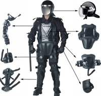 ARS-01 Protection Nylon Anti-riot Equipment uniform Flame retardancy Stab proof Anti Riot Suit