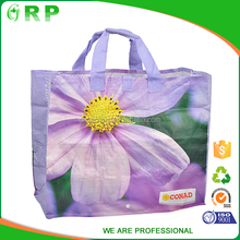 Promotional eco reusable Printed colorful foldable europe shopping bag