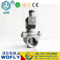 2W-250-25B Stainless steel 1inch low pressure low voltage 12 volt solenoid valve gas