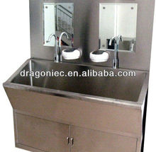 DW-BE001 TWO-station outdoor stainless steel sink scrub sink