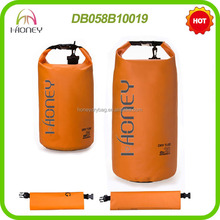 PVC Waterproof Dry Bag Backpack With Custom Logo for Camping Swimming Drifting