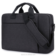 Stylish Fabric Laptop Messenger Shoulder Bag Case Briefcase 15.6 Inch