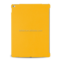 TETDED Premium Leather Case for Apple iPad Pro -- CaenA (LC: Yellow) for Keyboard Connector