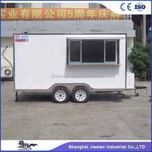 JX-FS400B fast food grilling machinery food warmers sa mobile food truck business for sale