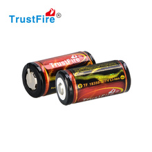 China manufacturer OEM/ODM lithium ion 2.75V-4.2Vv rechargeable 1200mAh 18350 battery for power tools