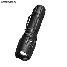Telescopic Focus Zoom Aluminum Alloy Xml T6 Rechargeable Flashlight 800lms Outdoor Essential Tactical Led Flashlight