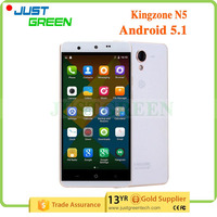 Kingzone smartphone 5 inch cell phone 4G LTE Android 5.1 MT6735 quad cores 2GB 16GB phone tablet