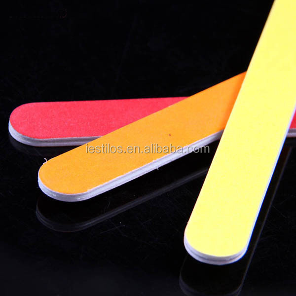 Colourful nail tool straight nail files eva custom printed nail file manufacturer