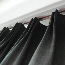 High quality wholesale blackout 100% polyester curtain drape with sheers for the living room