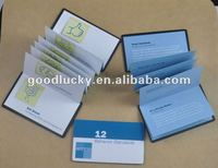OEM orders folding magnetic address phone book