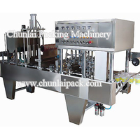 Automatic Cup Filling Roll Film Sealing