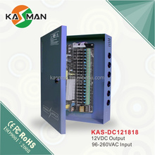 KASMAN KAS-DC121832 security alarm system/cctv camera 350W dc 120W power supply with PFC function
