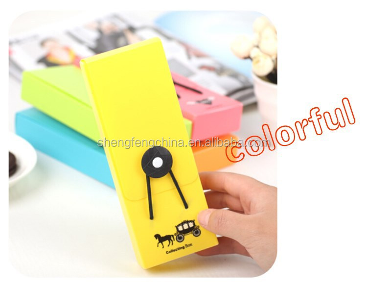 cute plastic pencil case,plastic pencil box