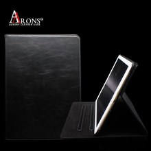 Genuine cow leather tablet flip covers & cases for ipad pro 9.7 case
