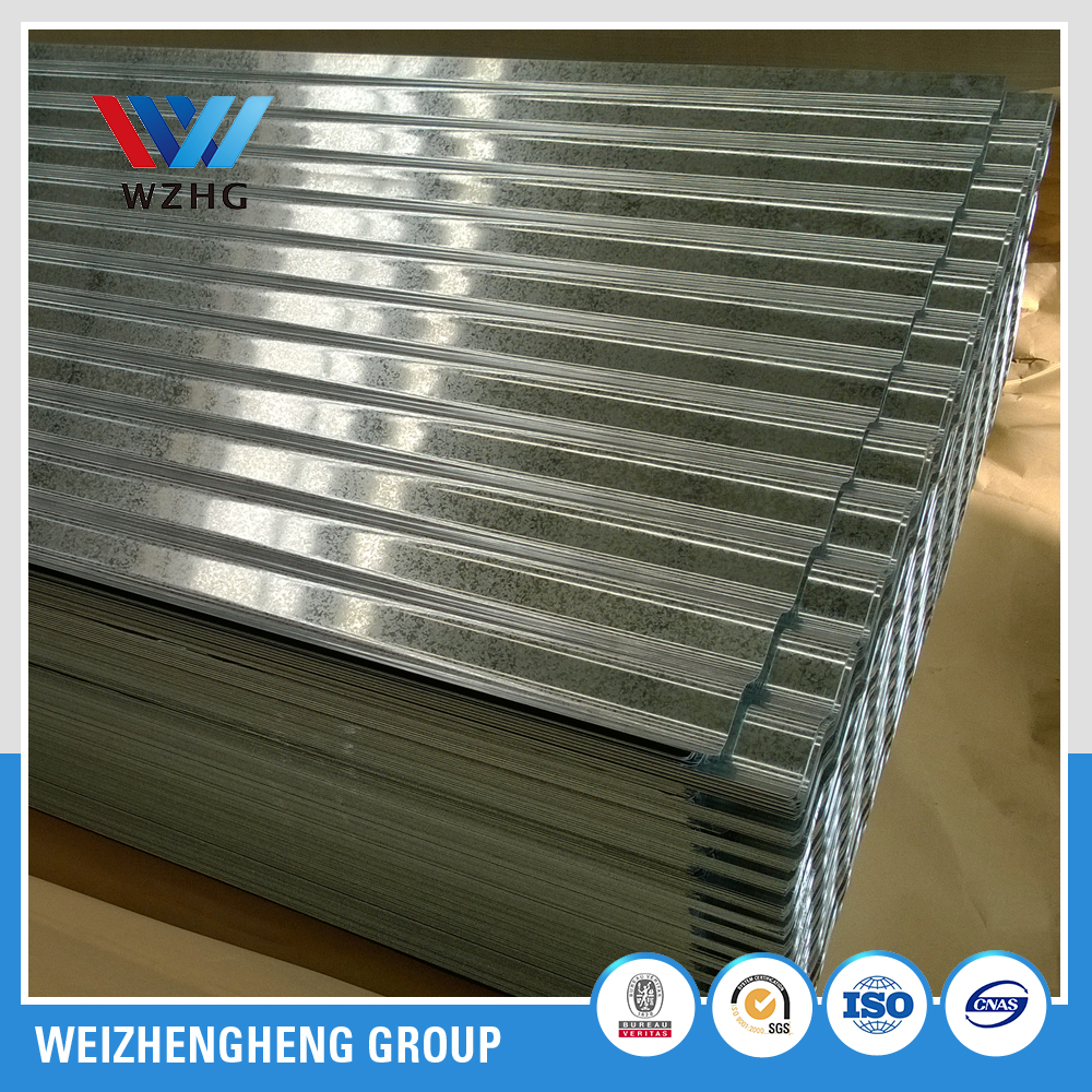 10ft galvanized corrugated iron roofing sheet/gi corrugated steel sheet
