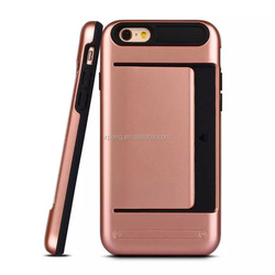 Alibaba China 2 in 1 wallet mobile phone cover / phone cover for iphone 6s 6 plus
