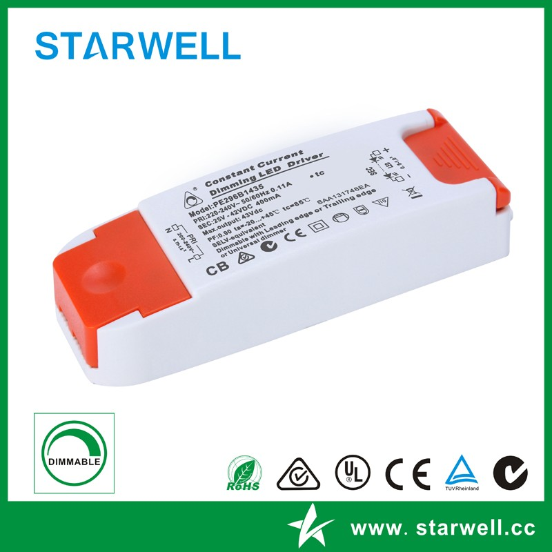 12W triac Dimmable Led Driver for led pannel