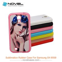 Popular 2D TPU sublimation phone case for Samsung S4,diy phone case