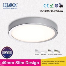 IP20 Letaron HERA Series led ceiling light approved TUV CE 24W