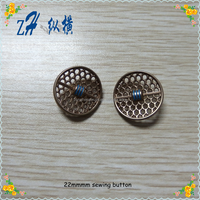 22mm customized new fashion sewing big button