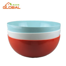Hot selling coconut shape melamine soup bowl