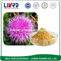 Herbal Plant Medicine Silymarin Specification For Liver