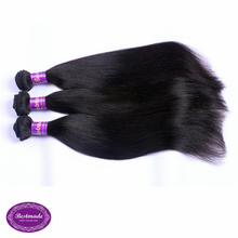 Real Malaysian Straight Human Hair Pieces