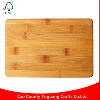 New household items Factory made price Eco-Friendly Square Mini Bamboo Cutting Board, 6 by 9 Inches