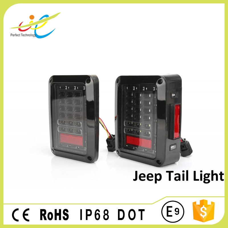 Auto spare parts led tail lights brake light turn light for ATV 4x4 truck automobiles & motorcycles